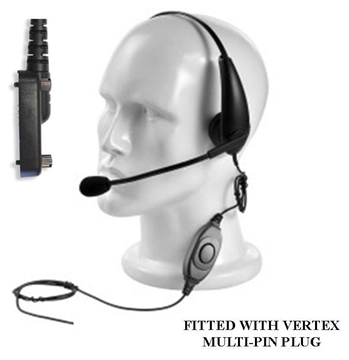 Picture of Vertex Lightweight Headset with Boom Mic & Inline PTT (Y6)
