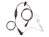 Picture of Motorola Deluxe One Wire Covert Acoustic Tube Earpiece with Inline Mic & PTT (M1) - By Radioswap Premium