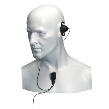 Picture of Entel EA12/950 ATEX Approved D-Shape Earpiece with Mic & PTT For HT series (New)