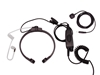 Picture of Puxing Light Weight Throat Mic with Covert Earpiece & Dual PTT (K1) - By Radioswap