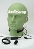 Picture of Quansheng Light Weight Throat Mic with Covert Earpiece & Dual PTT (K1) - By Radioswap