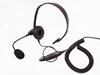 Picture of Motorola Lightweight Headset with Boom Mic & Inline PTT (M7) - By Radioswap Premium