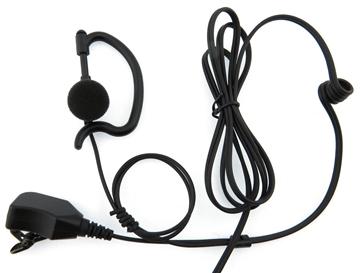 Picture of Motorola G-Shape Earpiece with Mic & PTT (M7) - By Radioswap Premium