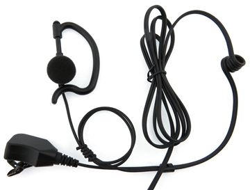 Picture of Linton G-Shape Earpiece with Mic & PTT (K1) - By Radioswap Premium