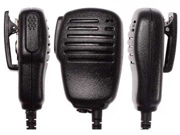 Picture of Cobra Speaker Mic with G-shape Earpiece (M6) - By Radioswap