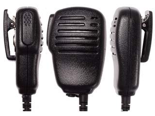 Picture of Puxing Speaker Mic with G-shape Earpiece (K1) - By Radioswap