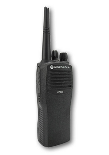 Picture of Motorola CP040 Black Refurbish Kit, New Housing & New Volume & Channel Knobs - By Radioswap