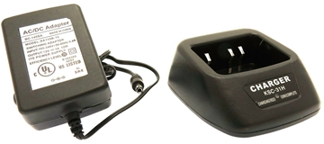 Picture of Kenwood RS-KSC35 Rapid Desktop Charger - By Radioswap