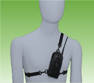 Picture of Puxing Cordura Chest Harness & Carry Case - By Radioswap