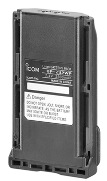 Picture of Icom BP232WP Li-Ion Battery Pack (New)