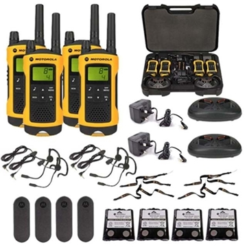 Picture of Motorola TLKR T80 Extreme Walkie Talkie Two Way Radios (QUAD)  - Education Pricing