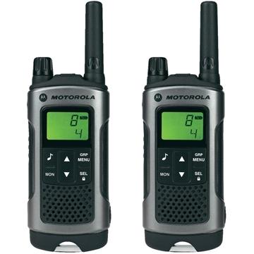 Picture of Motorola TLKR T80 Walkie Talkie Two Way Radio - PROMO