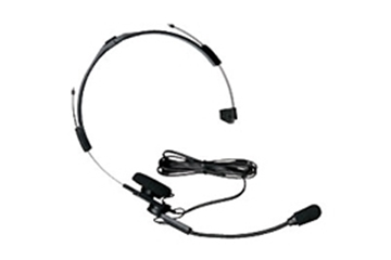 Picture of Kenwood KHS21 Lightweight Headset with Boom Mic VOX Only No PTT (K1) (New)