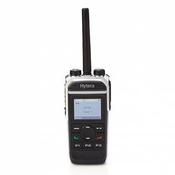 Picture of Hytera PD665 VHF DMR Digital Walkie-Talkie Two Way Radio With GPS & Man (New)