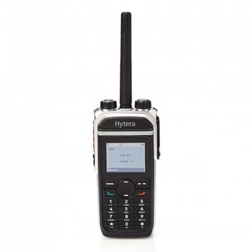 Picture of Hytera PD685 VHF DMR Digital Walkie-Talkie Two Way Radio With Charger + GPS & Man Down (New)
