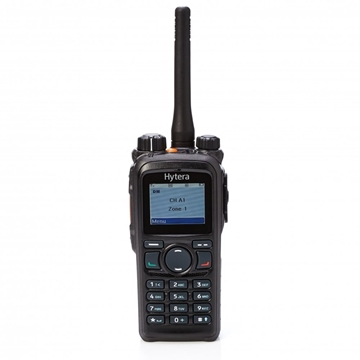 Picture of Hytera PD785 Low Band DMR Digital Walkie-Talkie Two Way Radio With Charger & BP150 Battery + GPS & Bluetooth (New)