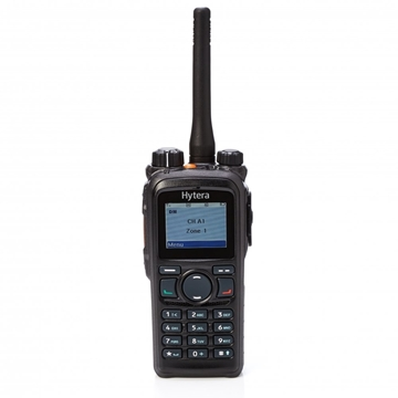 Picture of Hytera PD785 VHF DMR Digital Walkie-Talkie Two Way Radio With BL150 Battery & Charger (New)
