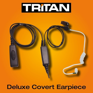 Picture of Tritan DMR Deluxe Covert Earpiece with Mic & PTT