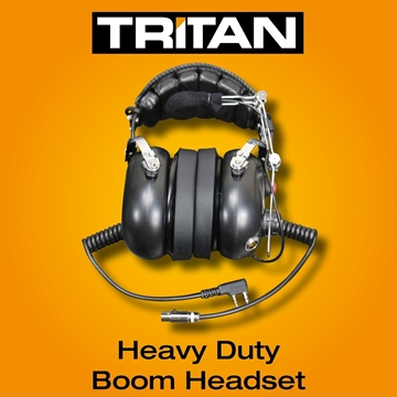 Picture of Tritan DMR Heavy Duty Noise Cancelling Boom Headset