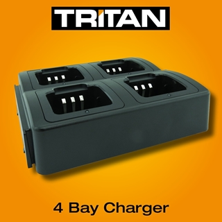 Picture of Tritan Four Bay Desktop Charger & Power Supply