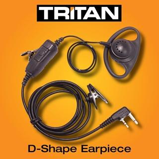 Picture of Tritan G-Shape Earpiece With Mic & PTT (K1)