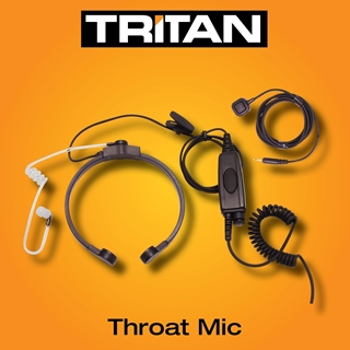 Picture of Tritan Lightweight Throat Mic With Dual PTT For Trade Model (K1)