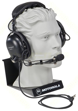 Picture of Motorola HMN9021 Medium-weight Noise Reducing Boom Headset Over the Head Style