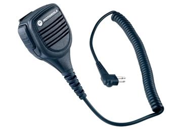 Picture of Motorola MDPMMN4029 Submersible Waterproof Compact Remote Speaker Mic with PTT Two Way Walkie Talkie Radios