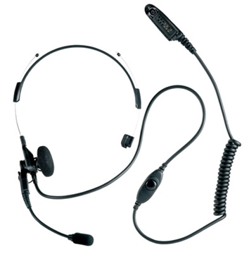 Picture of Motorola MDRMN4018 Light Weight Headset with Boom Microphone PTT & VOX