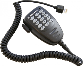 Picture of Motorola MDRMN4026C KEYPAD FIST MIC FOR RADIO