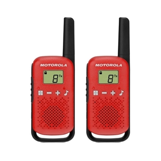 Picture of Motorola T42 Twin Pack Red Licence Free Two Way Radio Walkie Talkie