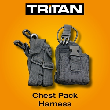 Picture of Tritan Body Harness Chest Pack Carry Case