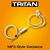 Picture of Tritan Earphone Style White Dual Earpiece With Mic & PTT (K1)