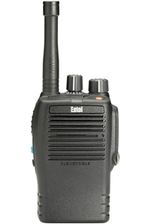 Picture of Entel DX482A UHF Waterproof Analogue Walkie Talkie Two Way Radio with CNB450E Battery & CSAHX Charger