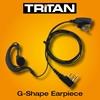 Picture of Tritan DMR G-Shape Earpiece with Mic & PTT