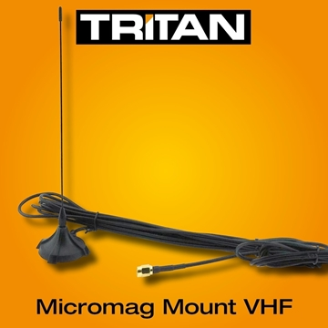 Picture of Tritan VHF Micro-Magmount Antenna & Range extender For All Models
