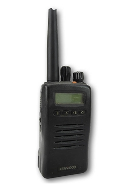 Picture of Kenwood TK3140 UHF Walkie-Talkie Two Way Radio (Used) With G Shape Earpiece