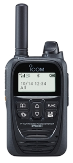 Picture of Icom IP503H LTE/PoC Walkie Talkie Two Way Radio