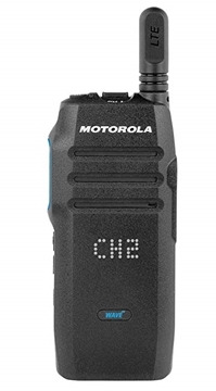 Picture of Motorola TLK100 Walkie Talkie Two Way Radio (Device, Charger & WAVE 12 Month Subscription with MOTOTRBO Integration)