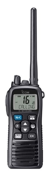 Picture of Icom IC-M73EURO Marine VHF Two Way Radio Walkie Talkie - New
