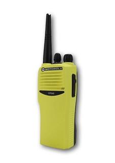 Picture of Motorola CP040 UHF Hi-Viz Yellow Walkie-Talkie Two Way Radio (Refurbished)