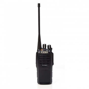 Picture of HYT TC700P VHF Walkie-Talkie Two Way Radio With HYTBL1703 Battery & CH10L07 Charger (New)