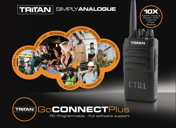 Picture of Tritan GoConnect Plus UHF Walkie Talkie Two Way Radio (New)