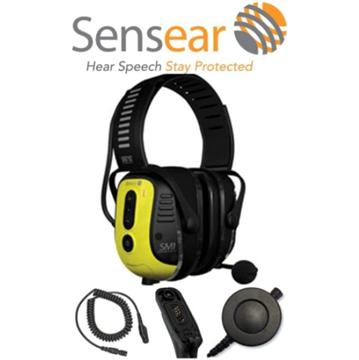 Picture of Sensear SM1 Smart Muff Noise Cancelling Ear Protection For Motorola Mototurbo Digital