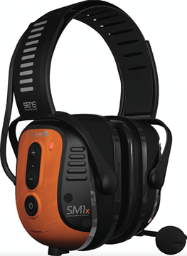 Picture of Sensear SM1X Smart Muff Noise Cancelling Ear Protection Bluetooth Phone & Radio