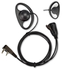 Picture of Anytone D-Shape Earpiece with Mic & PTT (K1) - By Radioswap
