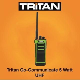 Picture of Tritan Go-Communicate 5 Watt Two Way Radio Walkie Talkie