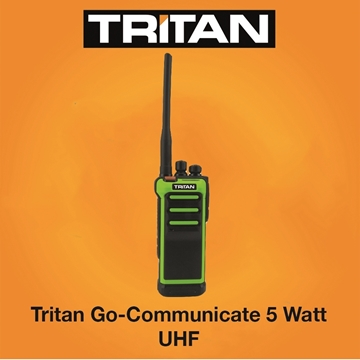 Picture of Tritan Go-Communicate 5 Watt Two Way Radio Walkie Talkie