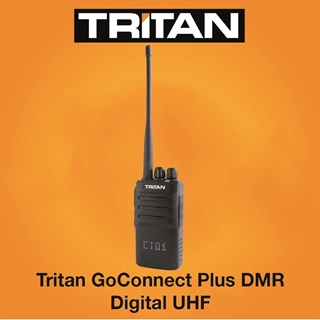 Picture of Tritan GoConnect Plus DMR Digital UHF Walkie Talkie Two Way Radio (New)