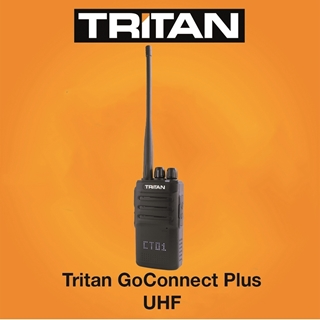 Picture of Tritan GoConnect Plus UHF Walkie Talkie Two Way Radio (New) - KEY WORKER DISCOUNT